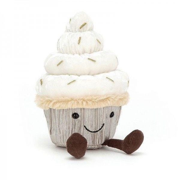 Jellycat - Cupcake Ciasto Maskotka Przytulanka 19cm