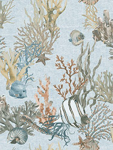 DansLemur 1052-3 tapeta na fizelinie Ocean''S Deep, wielokolorowa, 60 x 18 x 18 cm