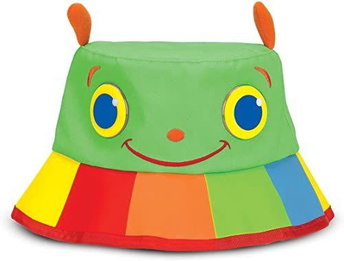 Melissa & Doug Sunny Patch ''Happy Giddy'' czapka z szerokim rondem dla ochrony przed słońcem