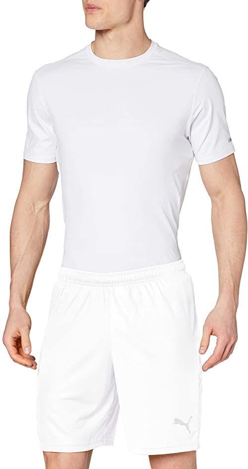 PUMA Męskie szorty LIGA Core Shorts biały Puma White-Puma Black 16-19