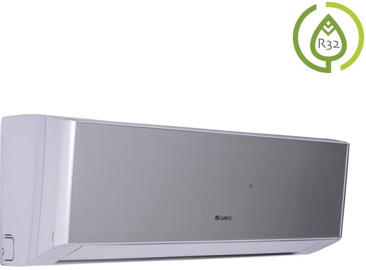 Klimatyzator ścienny Gree Amber Standard Silver GWH09YC-K6DNA2A/I - jednostka wewnętrzna