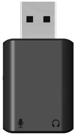 Saramonic EA2 - adapter audio (Jack 3.5mm TRS Out, Jack 3.5mm TRS In, USB-A) Saramonic EA2