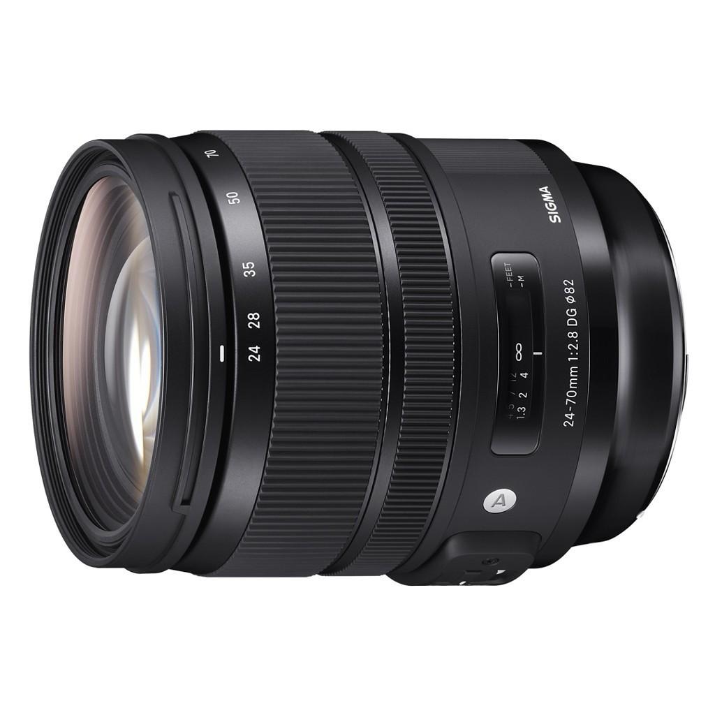 Obiektyw Sigma Art 24-70 mm f/2.8 DG OS HSM Nikon