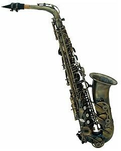 Dimavery SP-30 Eb saksofon altowy, vintage