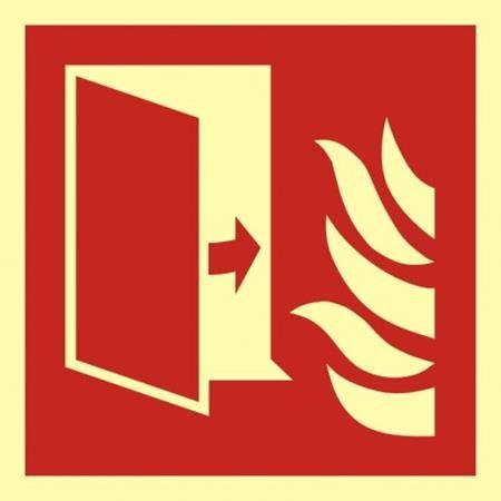 Drzwi przeciwpożarowe BAF007