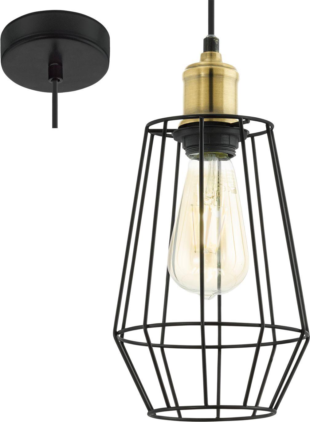 Eglo lampa wisząca Denham 49791 - SUPER OFERTA - RABAT w koszyku