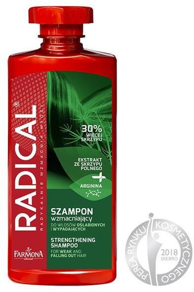 FARMONA RADICAL Szampon wzmacniający do włosów osłabionych i wypadających 400ml