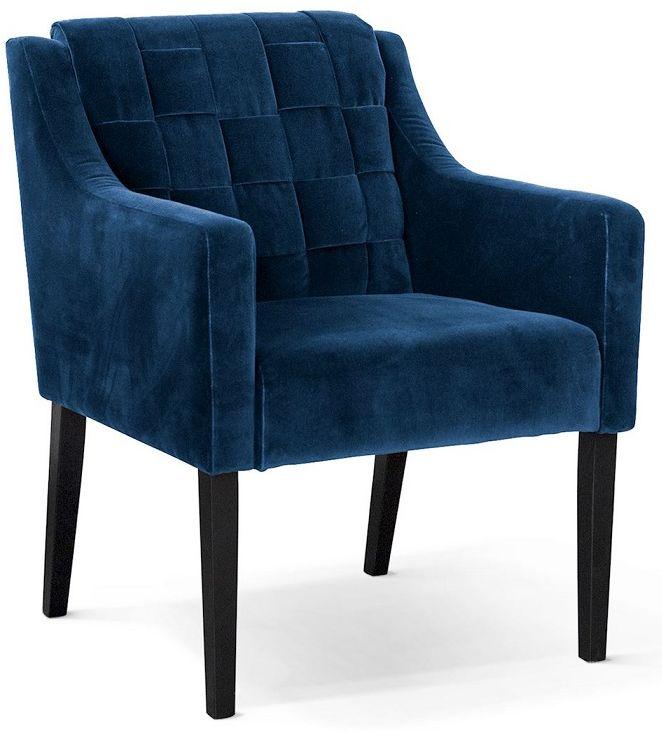 Fotel wypoczynkowy REDO niebieski