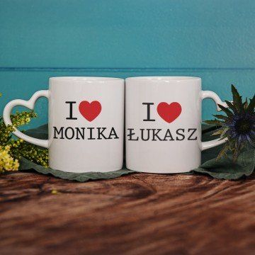I Love... - Kubki dla pary