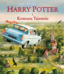Harry Potter i komnata tajemnic ilustrowana ZAKŁADKA DO KSIĄŻEK GRATIS DO KAŻDEGO ZAMÓWIENIA