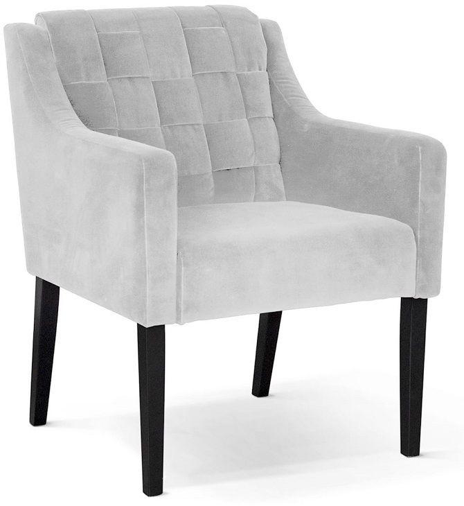 Fotel wypoczynkowy REDO srebrny