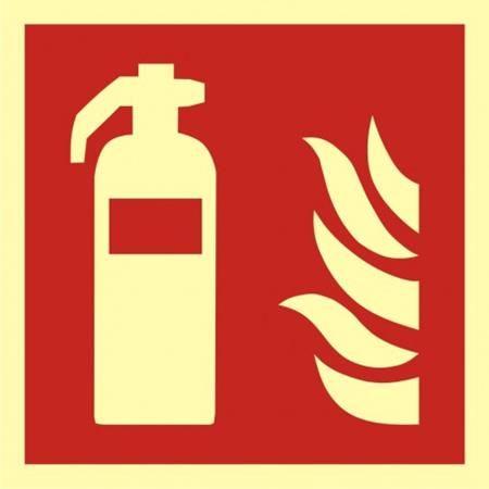 Gaśnica znak przeciwpożarowy BAF001