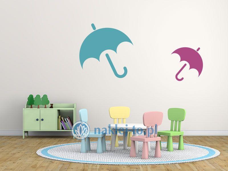 parasol naklejka naklejka na ścianę