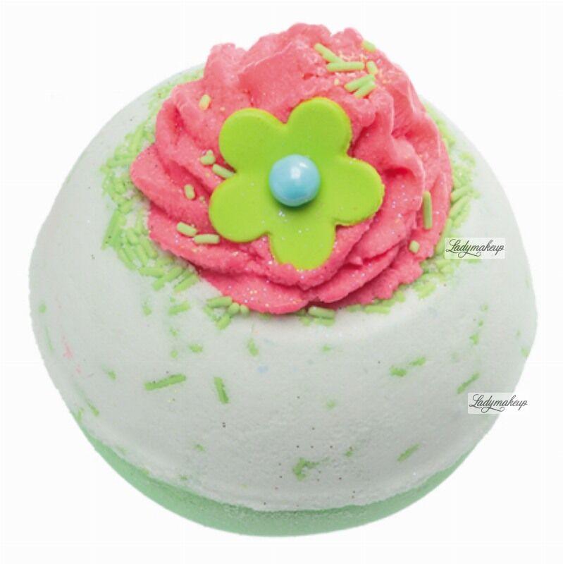 Bomb Cosmetics - Apple & Raspberry Swirl - Musująca kula do kąpieli - JABŁKO Z MALINAMI