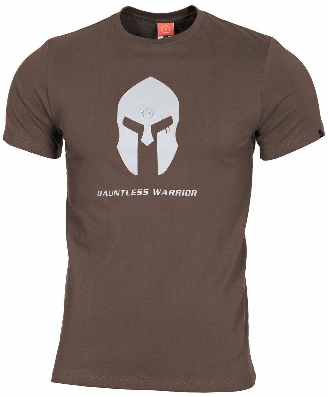 T-shirt Pentagon Ageron Spartan Helmet, Terra Brown (K09012-SH-26)