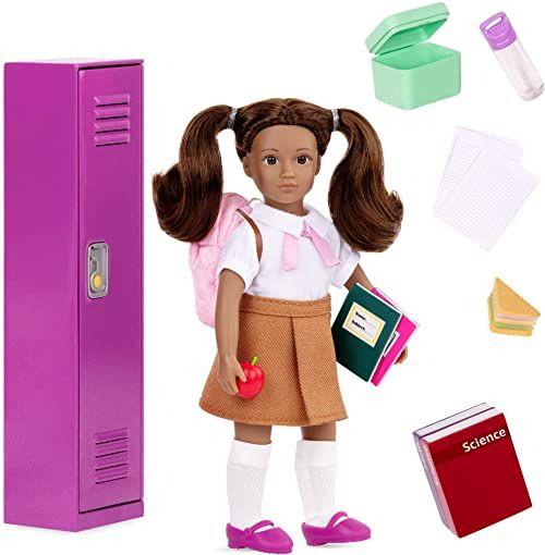 Lori LO31178Z 15 cm lalka AA szkolna szafka i Acc''y Jessalyn