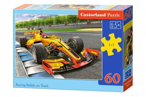Puzzle 60 Racing Bolide on Track CASTOR