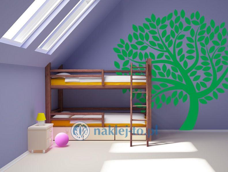 naklejka drzewo 3 naklejka na ścianę