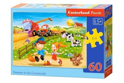Puzzle 60 Lato na wsi CASTOR