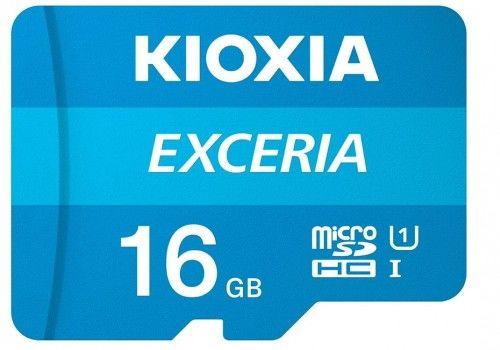 Kioxia Exceria microSD 16GB 100MB/s M203 UHS-I U1 class 10 + adapterem