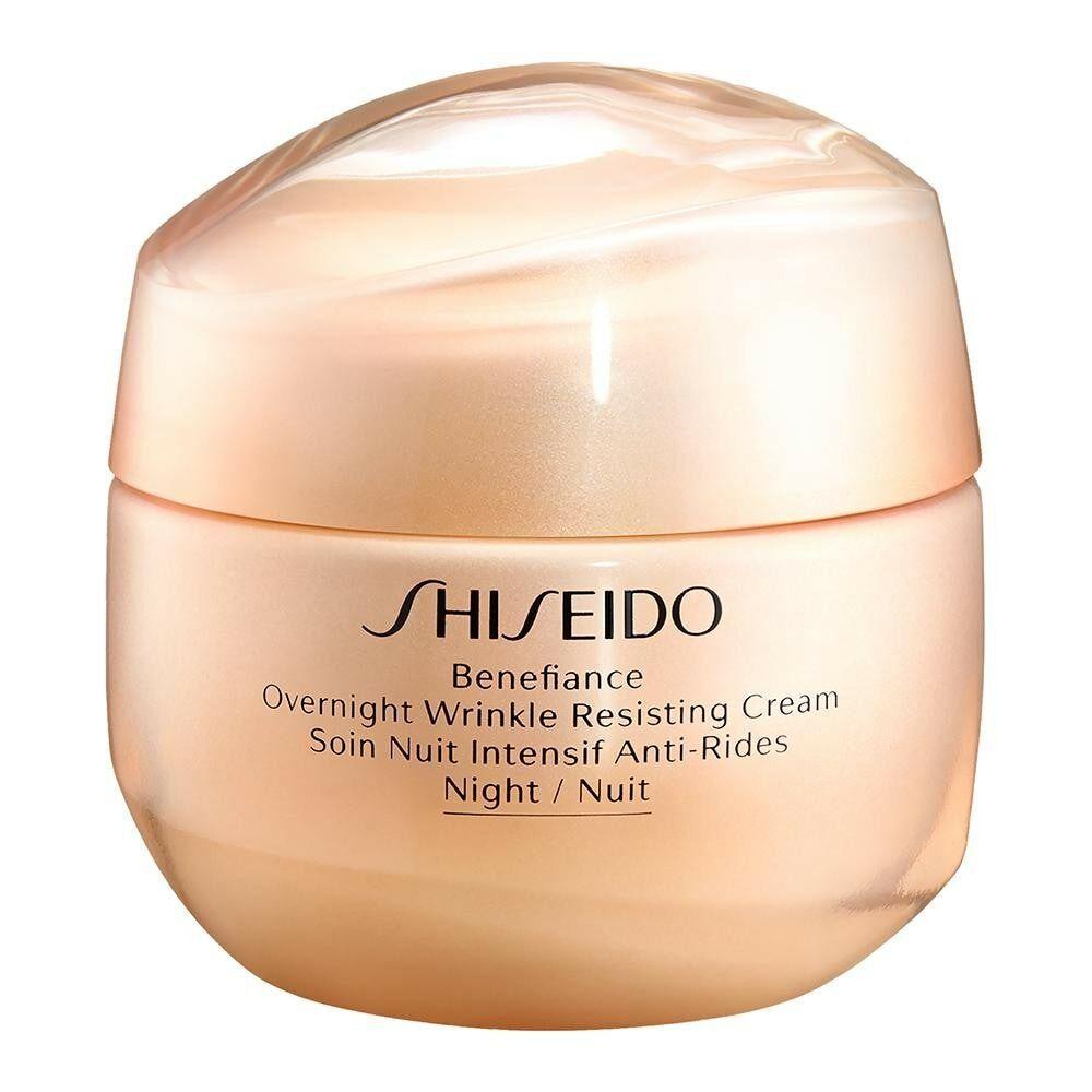Shiseido Benefiance Shiseido Benefiance OVERNIGHT WRINKLE RESISTING CREAM nachtcreme 50.0 ml