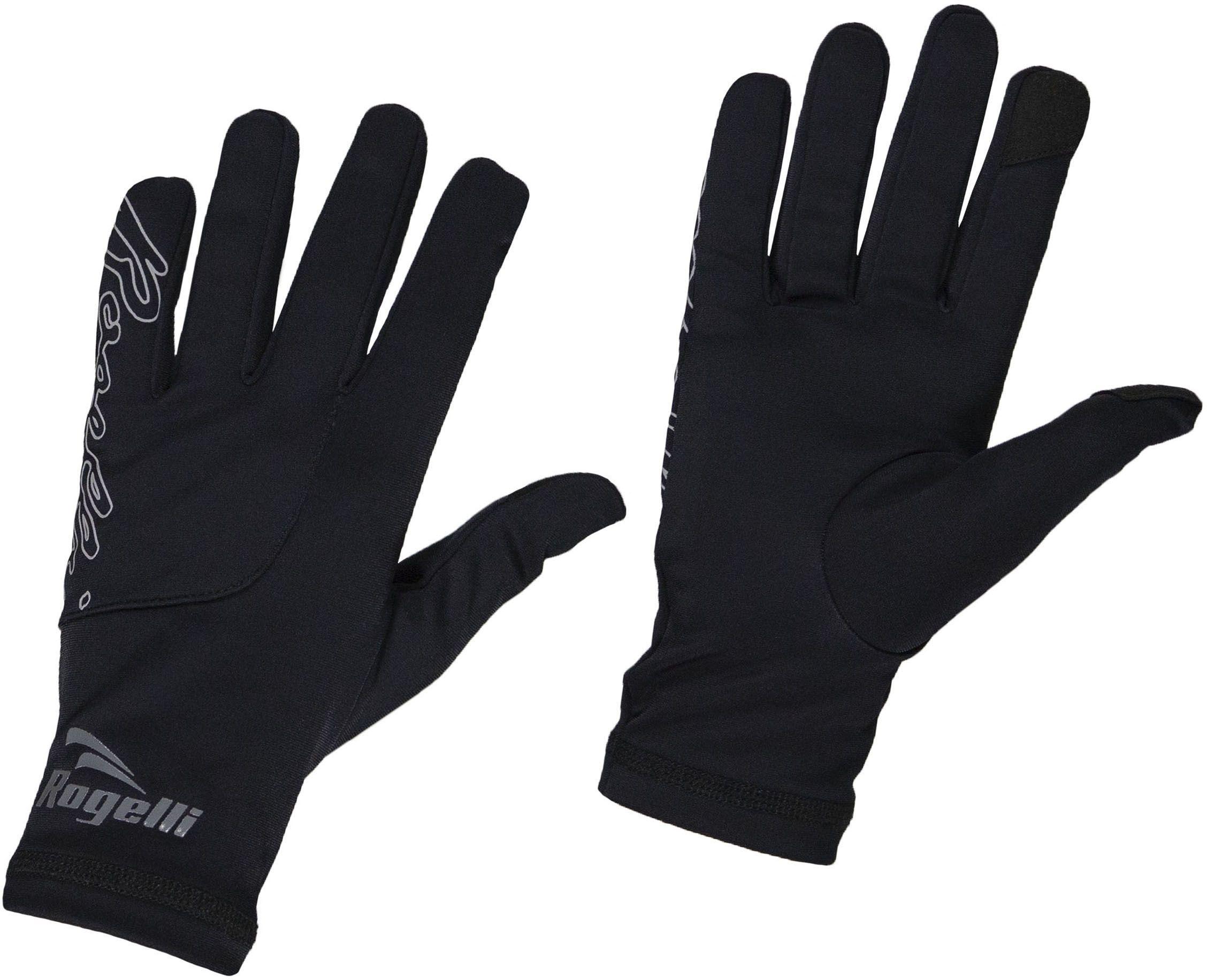 ROGELLI RUN 890.003 TOUCH damskie rękawiczki biegowe czarne Rozmiar: L,rogelli-touch-black-lds