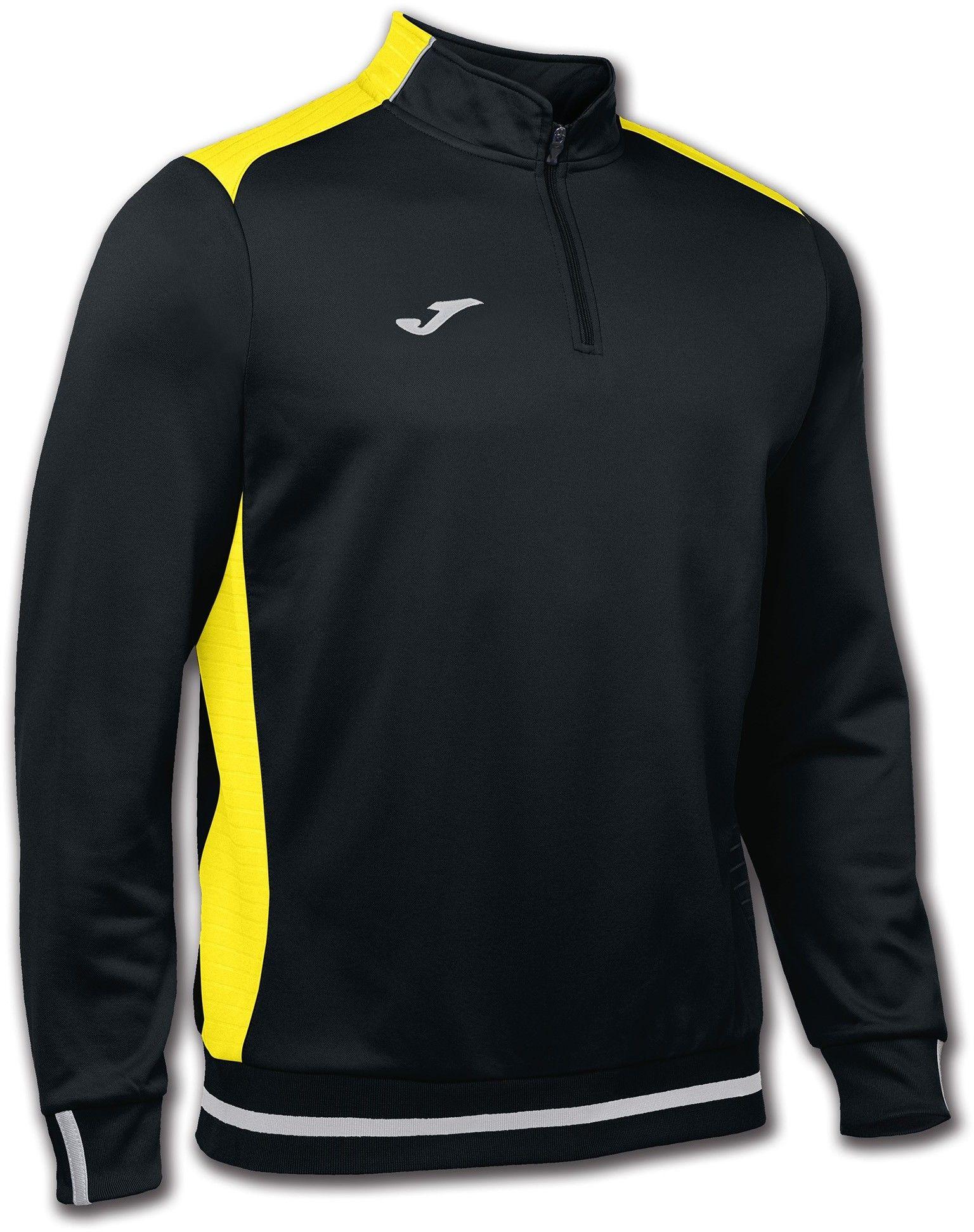 Bluza Joma Campus II black/yellow (10 szt.)