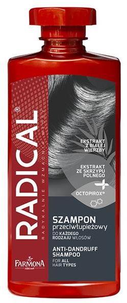 FARMONA RADICAL Szampon przeciwłupieżowy do każdego rodzaju włosów 400ml