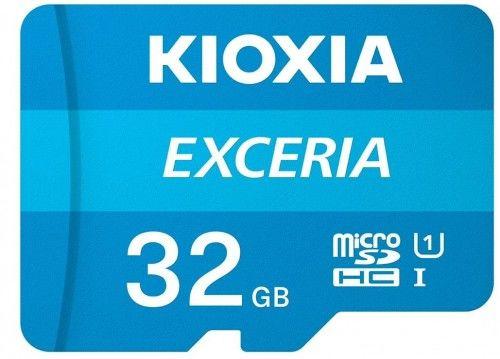 Kioxia Exceria microSD 32GB 100MB/s M203 UHS-I U1 class 10 + adapterem