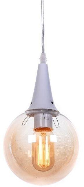 Lumina Deco Rocherro loftowa biała lampa wisząca