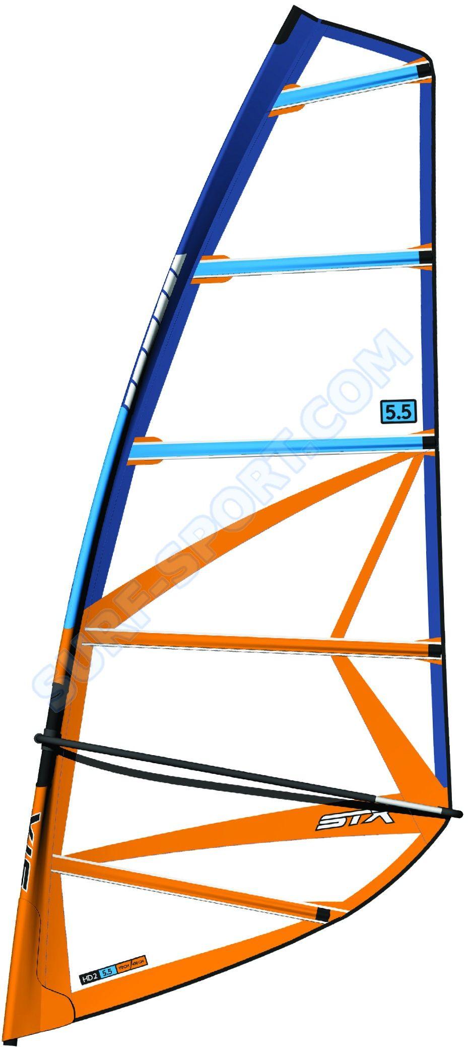 Żagiel-Cały Pędnik Do Deski Windsurfingowej ,Wind SUP, STX HD20 Rig 2021