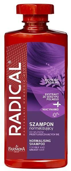 FARMONA RADICAL Szampon normalizujący do włosów przetłuszczających się 400 ml