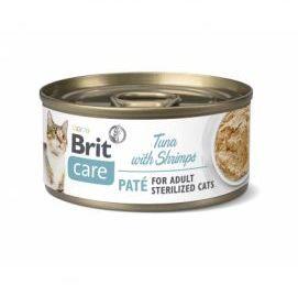 Brit Care Sterilized Cats Tuna with Shrimps Tuńczyk Krewetki 70 g