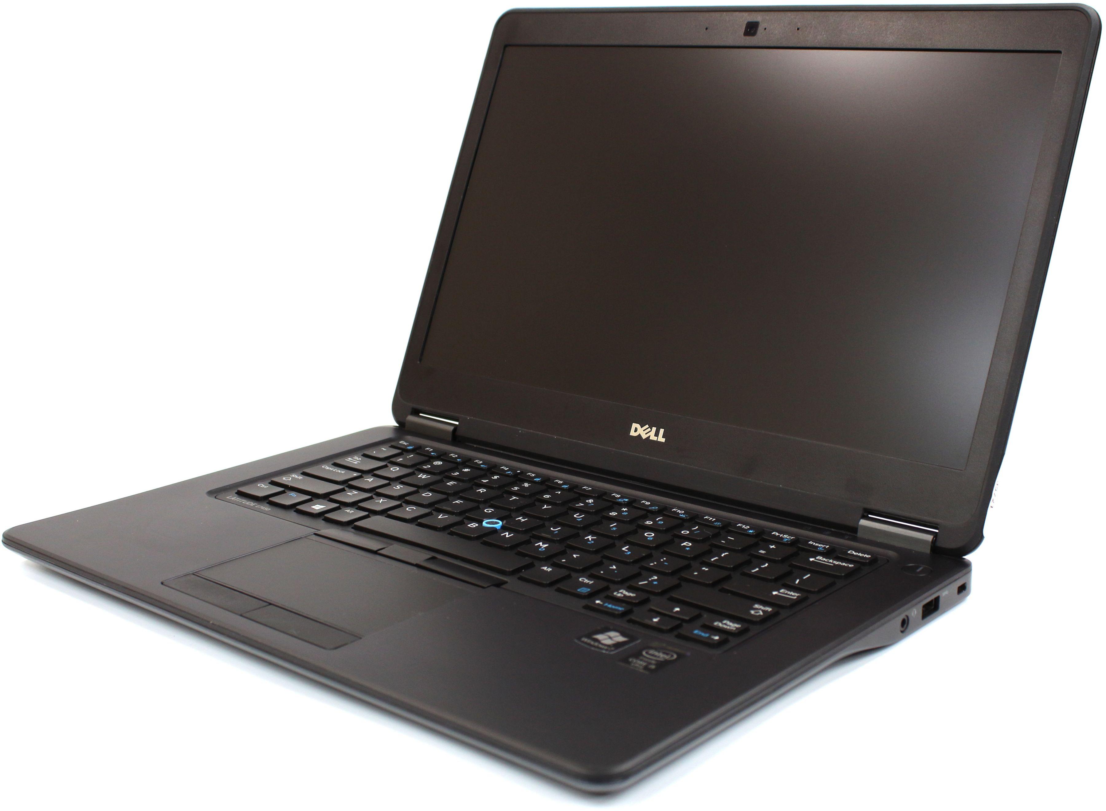 UltraBook DELL Latitude E7450 FHD i5-5300U 2.90GHz 8GB 256GB SSD HDMI Kamera Windows 7 Pro (Klasa A)