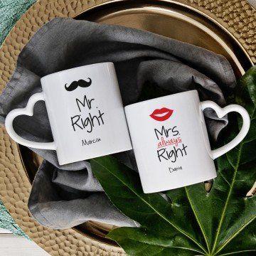 Mr & Mrs Right - Kubki dla pary