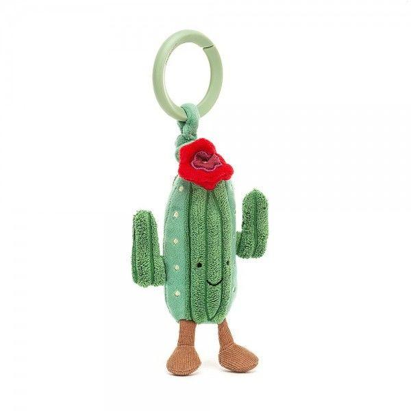 Jellycat - wielofunkcyjna zawieszka Amuseable kaktus drgająca zabawka 11cm