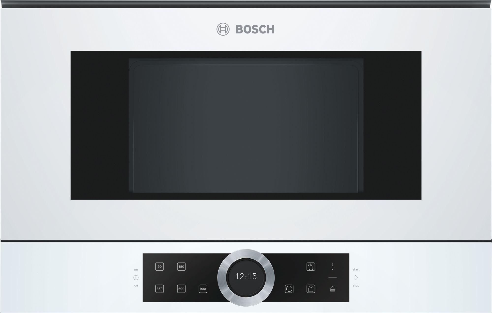 Mikrofala Bosch BFL634GW1 I tel. (22) 266 82 20 I Raty 0 % I kto pyta płaci mniej I Płatności online !