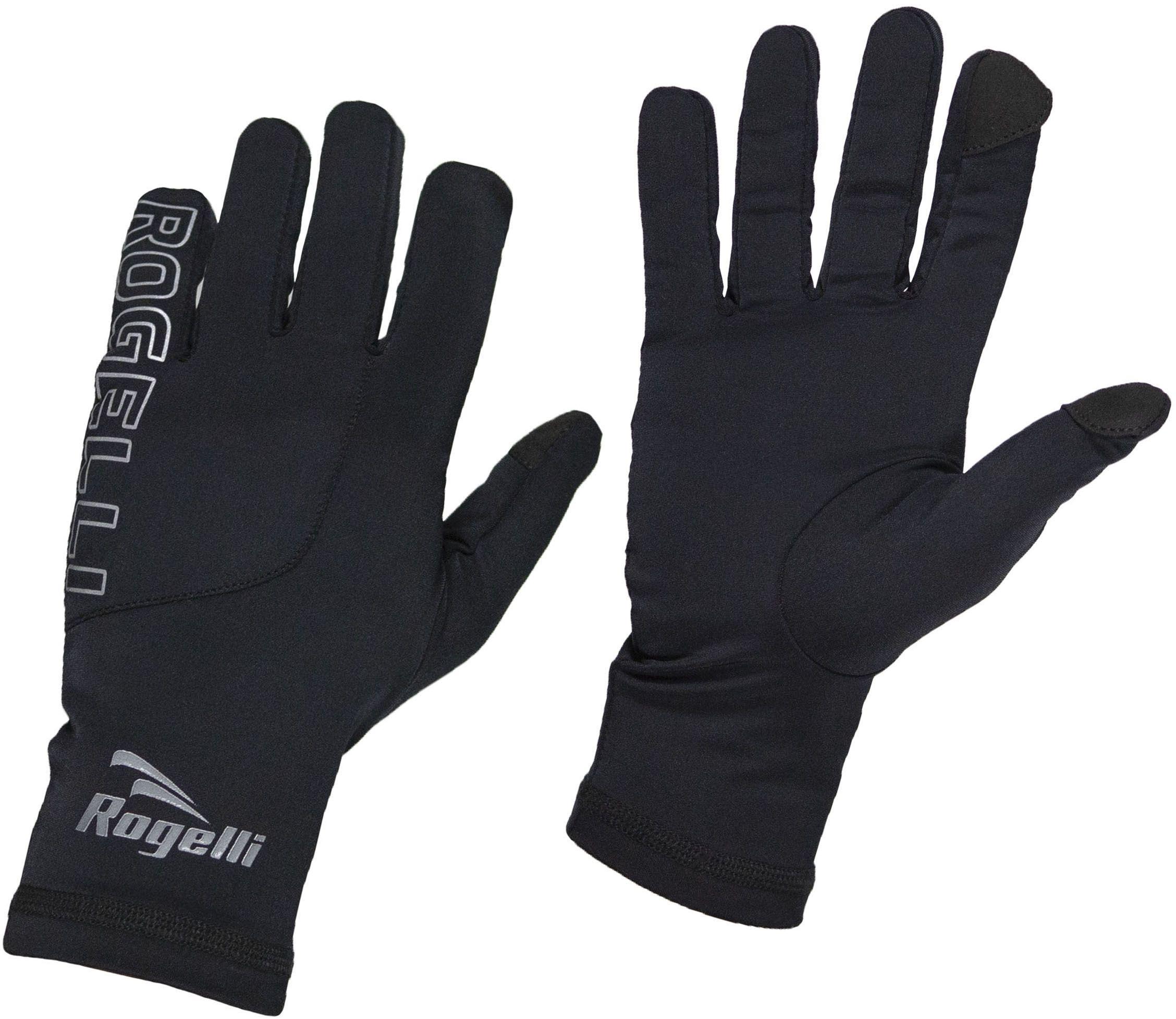ROGELLI RUN 890.001 TOUCH rękawiczki biegowe czarne Rozmiar: S,rogelli-touch-black-men