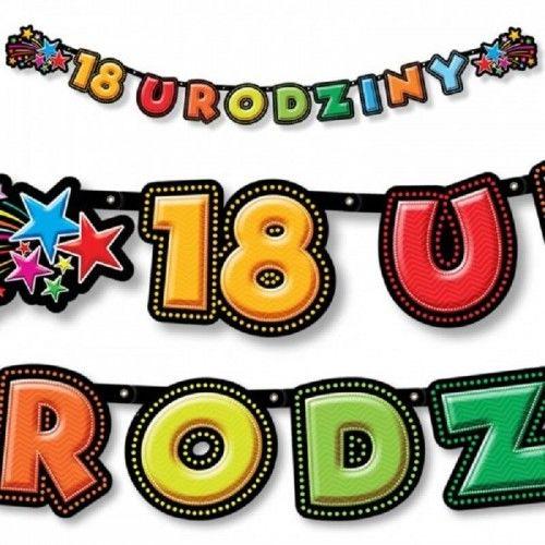Baner na 18 urodziny KolorLove Fajerwerki