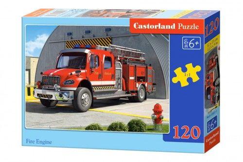 Puzzle 120 Wóz strażacki CASTOR