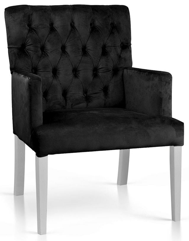 Fotel MARTINO czarny