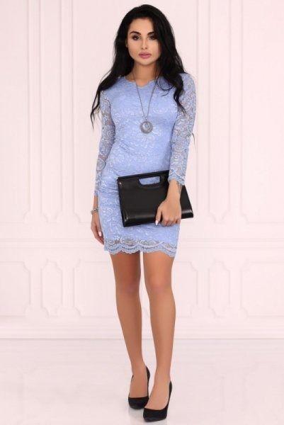 Sukienka damska merribel merribel 10391d blue