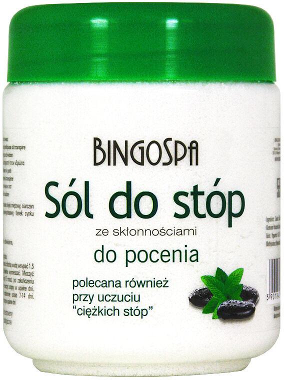 BINGOSPA - Sól do stóp ze skłonnościami do pocenia - 550g