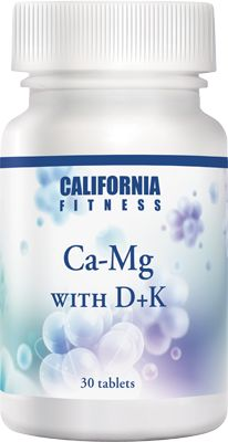 Ca-Mg with D+K 30 tabletek