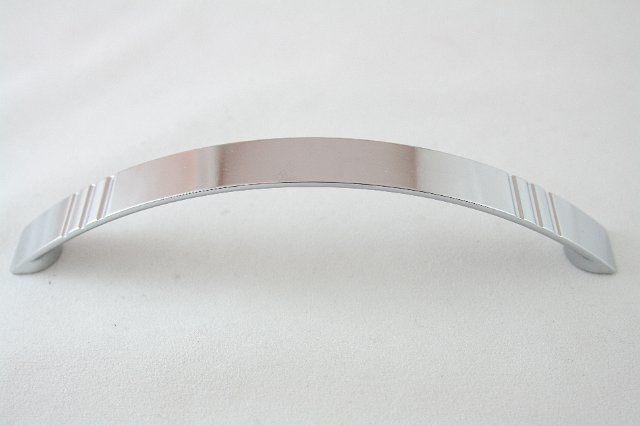 Uchwyt meblowy UT4004, 128mm, chrom, gamet