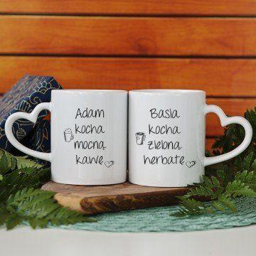 Kawa & Herbata - Kubki dla pary