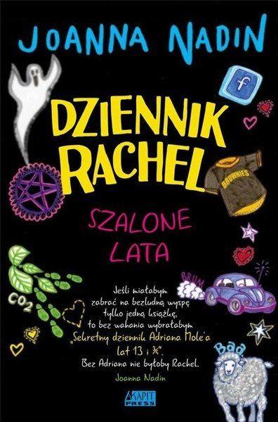 Dziennik Rachel Szalone lata - Joanna Nadin