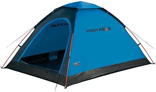 High Peak Monodome namiot kopułowy, namiot kempingowy dla 2 osób, namiot iglo, namiot festiwalowy z dnem wanny, 1500 mm wodoszczelny, wolnostojący, wysoka wentylacja, ochrona przed komarami