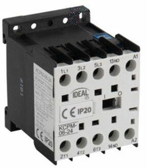 Stycznik mocy 6A 3P 24V AC KCPM-06-24 24091