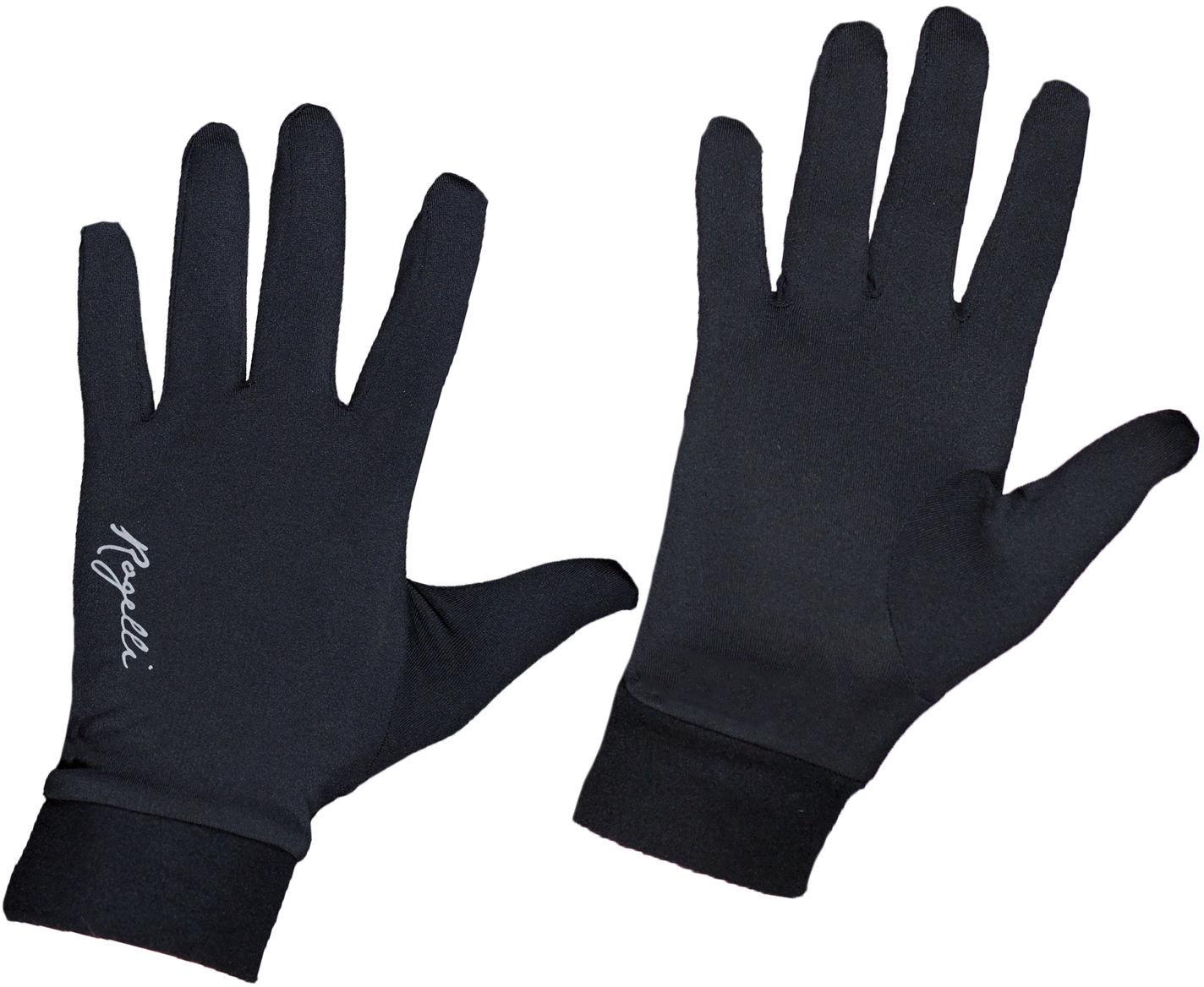 ROGELLI RUN OAKLAND 890.009 rękawiczki do biegania czarne Rozmiar: S,890-009